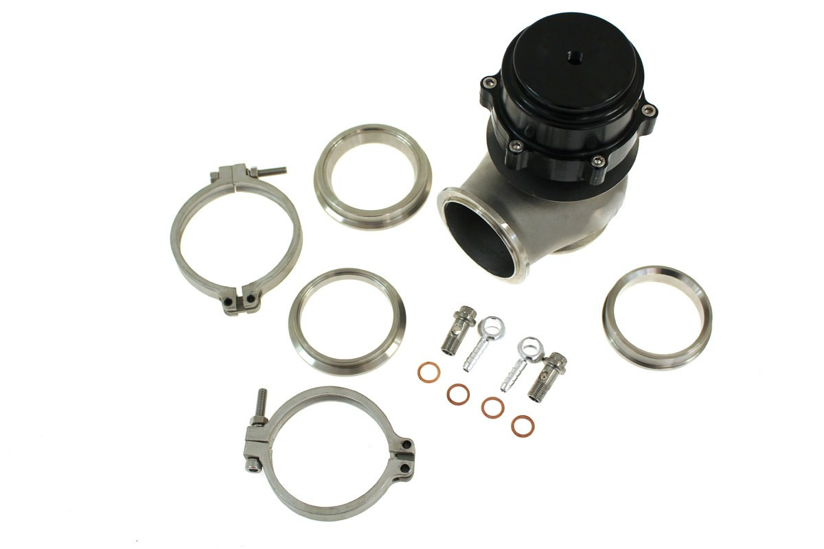 Wastegate zewnętrzny TurboWorks 60mm 2,2 Bar V-Band Black - GRUBYGARAGE - Sklep Tuningowy